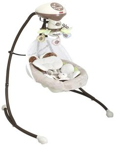 My Little Snugabunny Swing.  I love that this can also plug into an outlet!