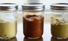 make my own mayo, make my own ketchup, now onto making my own mustard. Homemade Mustard, Salty Foods, Home Canning, Meals In A Jar, Russian Recipes, Ketchup, Diy Food, Korn, Pesto