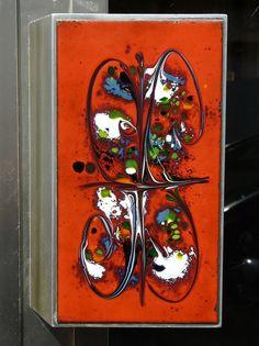 60s door handle by Fat Cat Brussels, via Flickr