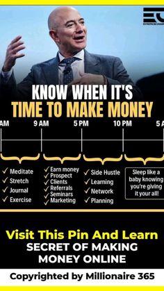 Entrepreneur Motivation, Business Entrepreneur, Business Management, Money Management, Business Money, Business Inspiration, Motivation Inspiration, Self Improvement Tips, Business Quotes