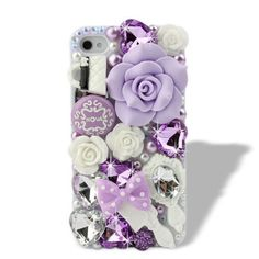 Nova Case 3D Bling Crystal iPhone Case for AT Verizon Sprint Apple iPhone 4/4S Purple Fairy Tale - Light Purple by Nova Case®, http://www.amazon.com/dp/B007XL5H20/ref=cm_sw_r_pi_dp_mf9grb1XRF9M1