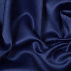 estate blue poly satin