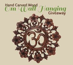 Om wall hanging by Buddha Groove {US} (10/20/2016) via... IFTTT reddit giveaways freebies contests