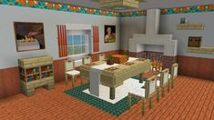 A nice little dinner room. : Minecraft - A nice little dinner room. : Minecraft La meilleure image selon vos envies sur breakfast for kids Vo - Minecraft Crafts, Minecraft Designs, Minecraft Mods, Minecraft Villa, Plans Minecraft, Minecraft Mansion, Minecraft Interior Design, Easy Minecraft Houses, Minecraft Decorations