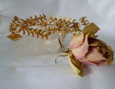 Haarschmuck - ♥ Brauthaarreif ♥ - ein Designerstück von Cafe-bijoux bei DaWanda