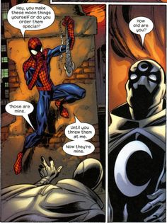 Ultimate Spider-Man & Moon Knight