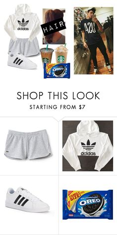 """""""Hanging w/ Hayes ❤"""" by crystalhemmings11 ❤ liked on Polyvore featuring Lacoste and adidas"""