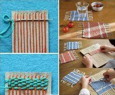 Fabric coasters ♡