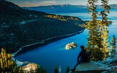Emerald Bay by photographer Mike Herron.