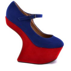 PANTOFI BLEUMARIN GAGA   135,0 LEI Lei, Peeps, Peep Toe, Platform, Wedges, Shoes, Fashion, Moda, Zapatos