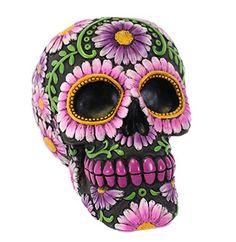 Mantén tus ahorros a salvo con esta hucha de calavera mexicana inspirada en el día de los muertos con unos colores de lo más vivos!Marca JonesPeso del producto 281 gDimensiones del producto 14,4 x 11,8 x 10,4 cm