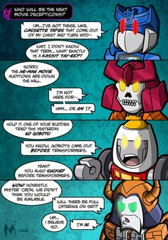 Lil Formers - Auditions 2 by MattMoylan on DeviantArt He Man Movie, Transformers Memes, Ghost Rider Marvel, Optimus Prime, Screwed Up, Sound Waves, Comic Books Art, Funny Comics, Fan Art