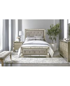 Pictures Of Bedroom Furniture Beautiful Ailey Bedroom Furniture Collection Mirrored Bedroom Furniture, Bed Furniture, Rustic Furniture, Furniture Design, Kitchen Furniture, Furniture Ideas, Furniture Stores, Steel Furniture, Furniture Outlet