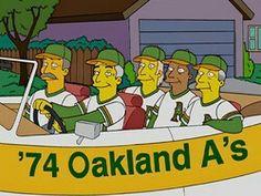 Atléticos de Oakland, Campeones 1974
