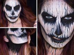 Sandra Holmbom, Halloween Make-up