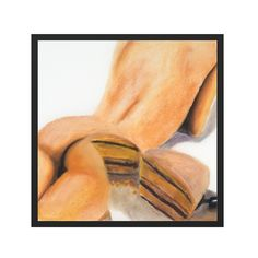 Cake by Gina Beavers Contemporary Art Prints, Printed Matter, Beavers, Sculpting, Peach, Carving, Drawings, Cake, Artist