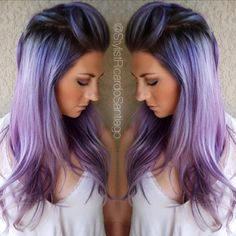 Beautiful smokey lavender hair that could make you so obsessed (27)