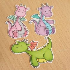 My favourite things magical dragons #MFT #magicaldragons #copicmarkers