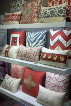 Designee pillow obsession--activated (again).