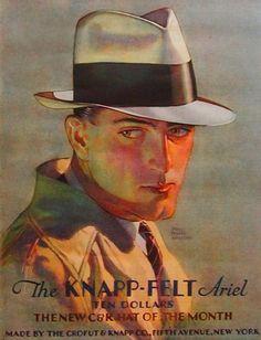 Knapp-felt. ariel. hat. The shadows, shading and highlights are fabulous.