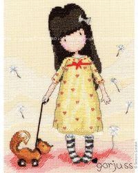 Craft :: Cross Stitch Kits - SANTORO's Gorjuss