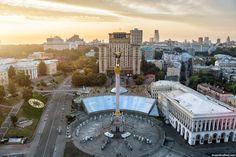 Restored Independence Square, Kyiv, Ukraine, photo 1