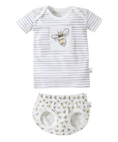 91bfd1c009b Love this Cloud Bee Organic Tee  amp  Diaper Cover - Infant by Burt s Bees  Baby