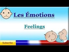 Learn basic French words to describe feelings and emotions. Learn how to use those words in French sentences. Learn the F. Love French, French Words, Learn French, Language Study, Learn A New Language, French Language, French Teacher, Teaching French, French Adjectives
