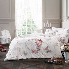 Taç Love Roses Double Bed Set for Couples Double Bedding Sets, Bed Sets, Bed Styling, Double Beds, Comforters, Roses, Blanket, Couples, Furniture