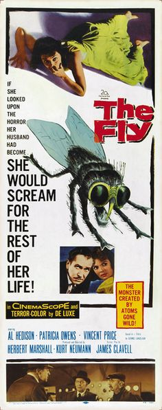 THE FLY:- Help Me... Help Me.. Who can forget that sequence in this classic. Must have been really shocking back in the day. MH