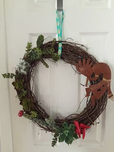 Southwestern wreath by ReagyLaneDesigns on Etsy