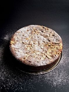 """Lemon, Ricotta and Almond Cake - There's a (soon-to-be) famous saying – """"When life gives you lemons, make Lemon Cake!"""" THIS CAKE! Almond Recipes, Baking Recipes, Dessert Recipes, Desserts, Moist Cakes, Almond Cakes, Gluten Free Cakes, Dessert Bread, Sliced Almonds"""