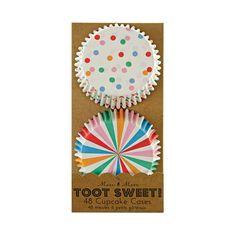 Meri Meri Toot Sweet Spotty Cupcake Cases
