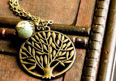 """Bronzekette """"Die Sagen von Lebensbaum"""" von Bling-Bling Boutique auf DaWanda.com"""