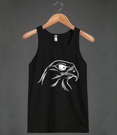 eagle head Unisex Tank / BlackTop