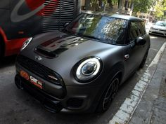 Aquí lo tienes! MINI John Cooper Works en Grafito Mate - Car Wrapping by...