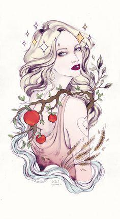 The Empress - Soleil Ignacio Illustrations