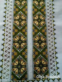 Afghan Clothes, Cross Stitch Art, Embroidery Stitches, Bohemian Rug, Traditional, Rugs, Crochet, Quilts, How To Make