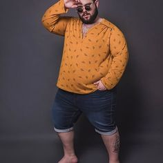 ⏩WE luv Plus Size Men's Clothing – MA mode homme grande taille ⌨️tags for : Mens Plus Size Fashion, Plus Size Mens Clothing, Big Men Fashion, Mens Clothing Styles, Men's Clothing, Moda Plus, Look, Men Casual, Curvy