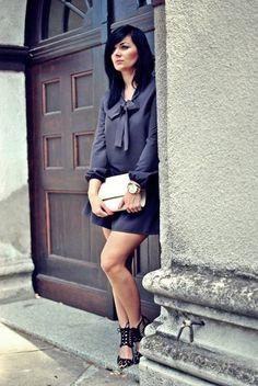 Sukienka z kokardką <3