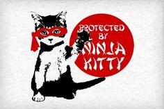 Protected by Ninja Kitty