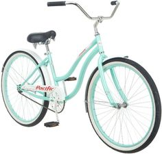 Amazon.com: Pacific Cycle Womens Oceanside Bicycle (Light Blue): Sports & Outdoors