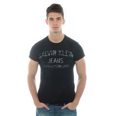 Tee Shirt Calvin Klein CMP12A Noir