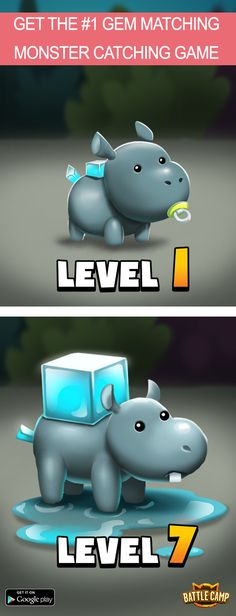 Collect & Evolve Your Monsters!