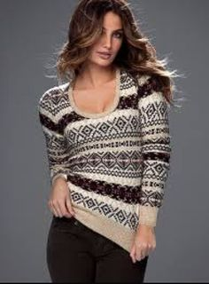 VS Fair Isle Sweater