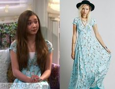 Riley Matthews (Rowan Blanchard) wears this blue floral print dress in this week's episode of Girl Meets World It is the Free [...]