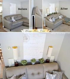 Are you often complaining that the space of your home is too small to contain so many things of yours? Sometimes we cannot change the fact that we have a tiny home with a limited space. But expand your small space has never been a difficult thing. What yo Small Living Room Design, Small Living Rooms, Home And Living, Living Room Designs, Modern Living, How To Decorate Small Living Room, Small Living Room Ideas On A Budget, Living Room Lamps, Bedroom Ideas Master On A Budget