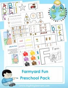 Fun on the Farm Free Preschool Pack. I downloaded this and its great stuff.