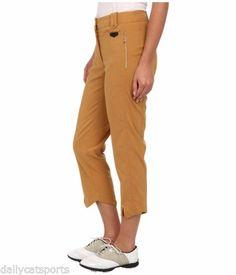 NWT-JAMIE-SADOCK-Cinnabar-Gold-Allie-Capri-Pants-Size-14-31326-940-Elastic-Sides