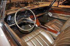 1965 Buick Riviera interior